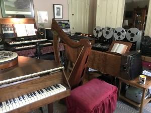 Sherri's recording studio